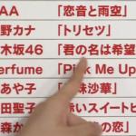 乃木坂46 NHK紅白歌合戦初出場と曲名(歌)も決定!