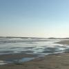 命は美しいのCDジャケット撮影は寒い九十九里浜